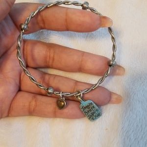 Brighton twisted charm bangle
